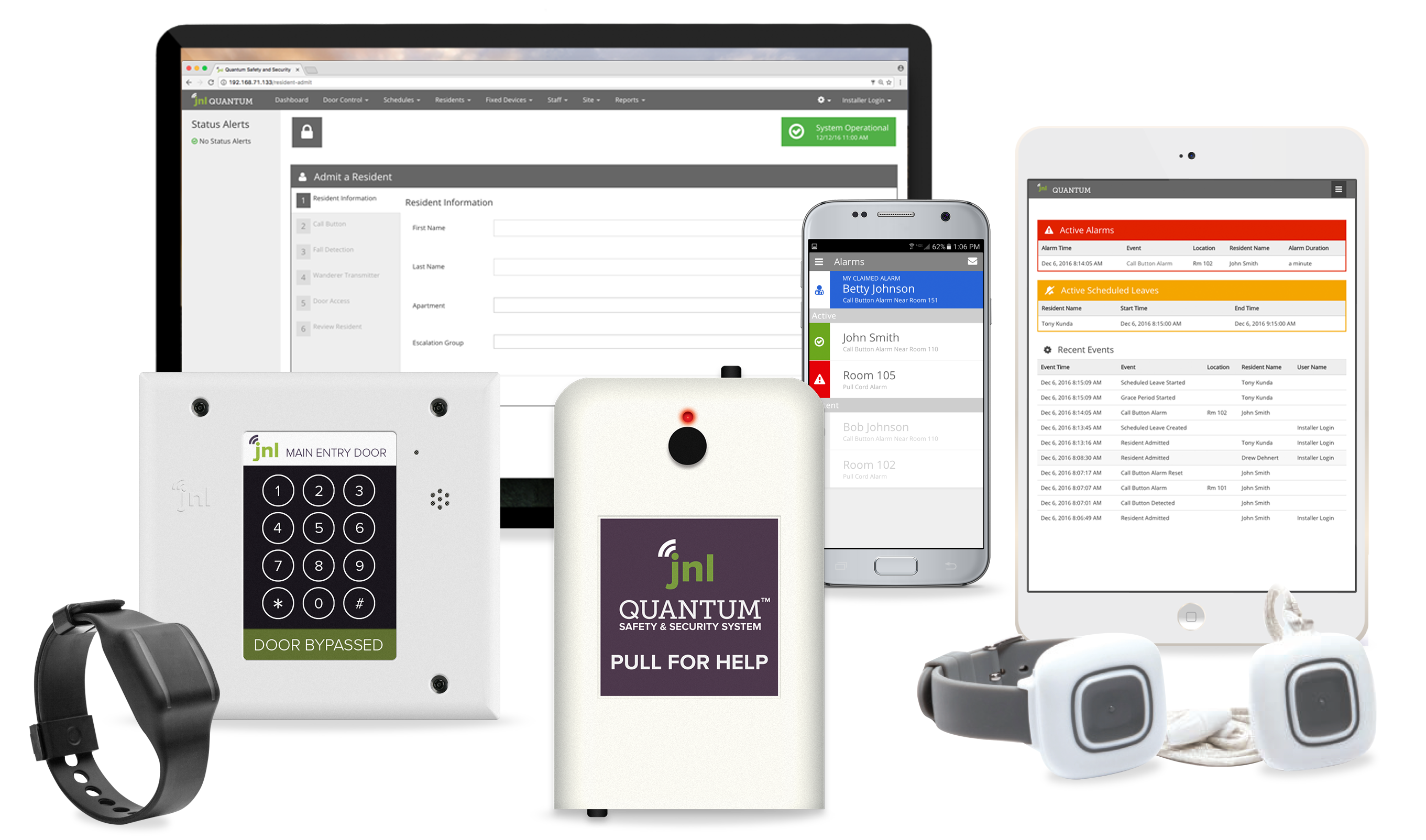 Wander Management, Access Control and Nurse Call Products and Software